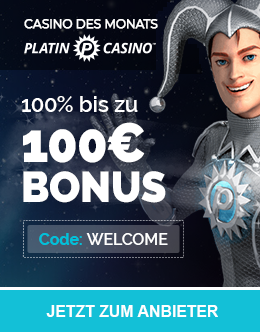 Platin Casino - Online Casino of the Month