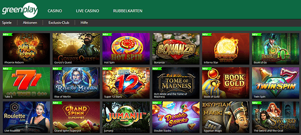 Greenplay Spiele
