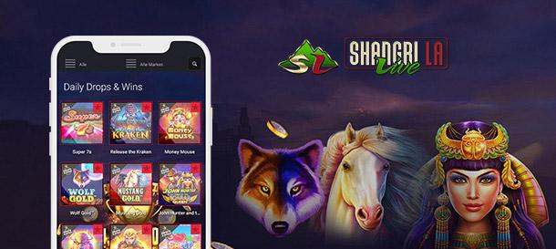 Shangri La Live Casino Mobil