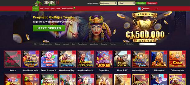 Shangri La Live Casino Spiele