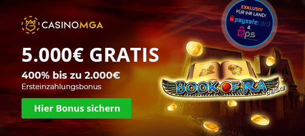 CasinoMGA Bonus