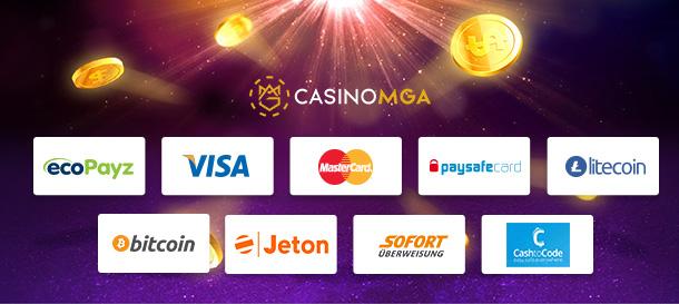 CasinoMGA Zahlungen