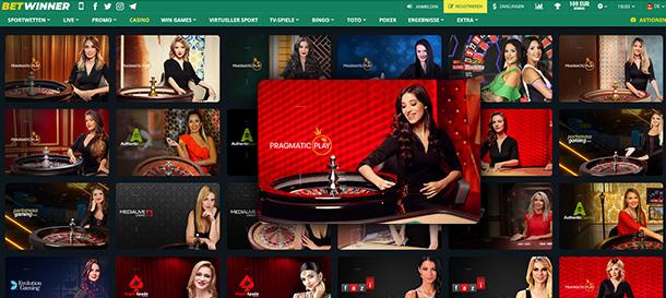 Betwinner Casino Livecasino