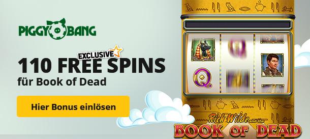 Piggi Bang Casino Bonus