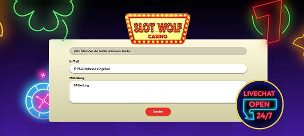 SlotWolf Casino Service