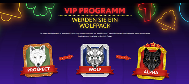 SlotWolf Casino VIP