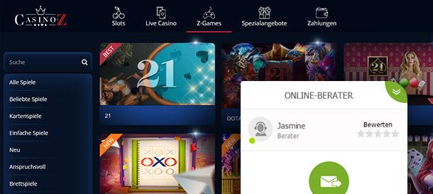 CasinoZ Erfahrungsbericht