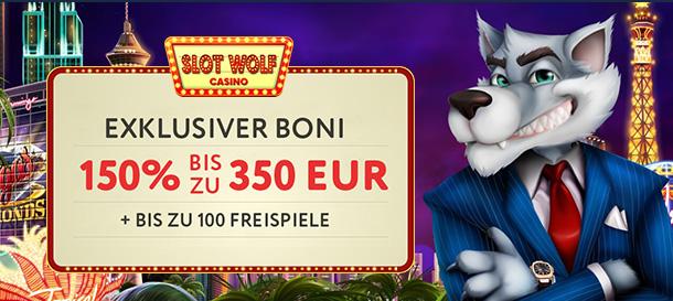 SlotWolf Bonus