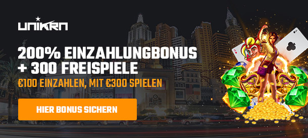 unikrn casino bonus