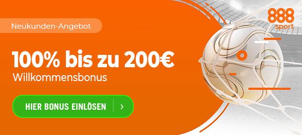 888sport Neukundenbonus