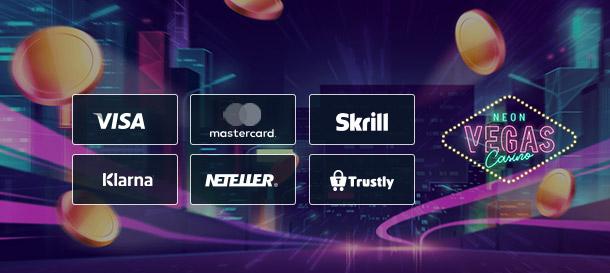 Neon Vegas Zahlungsmethoden
