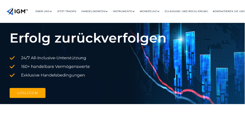 IGM FX Homepage