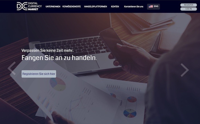 Digital Currency Market Homepage