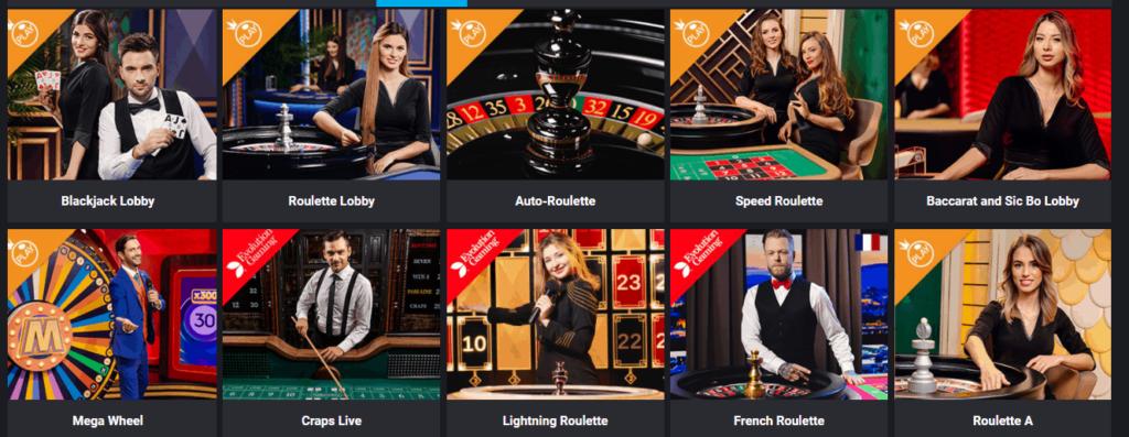 Mystake Live Casino