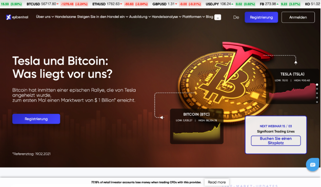 eXcentral Homepage