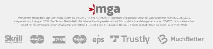 kajot casino zahlungen regulierung
