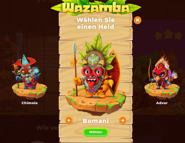 Wazamba Casino Registrierung