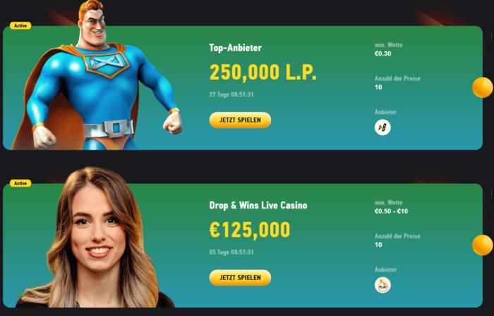 FezBet Casino Turniere