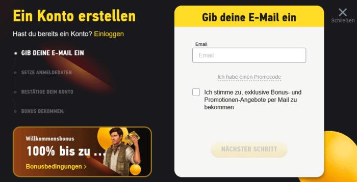 FezBet Registrierung