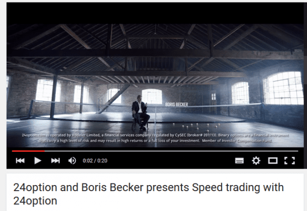 Video Speed Trading mit Boris Becker
