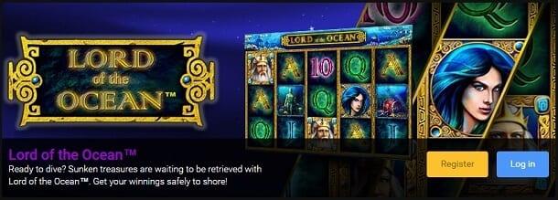 Lord of the Ocean bei Stargames um Echtgeld spielen