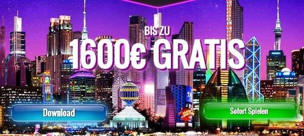 Highroller Bonus von 1.600 Euro bei Jackpot City