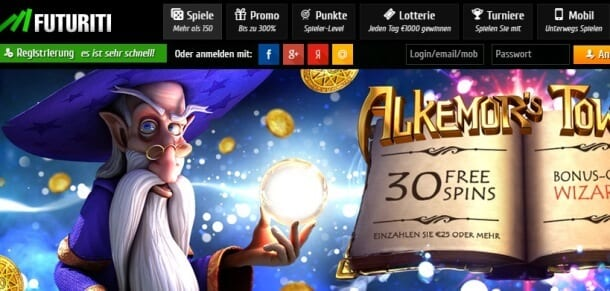 Book of Ra im Futuriti Casino