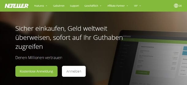Neteller gehört zur Paysafe Financial Services Limited