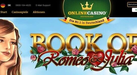 Deutsches Online Casino OnlineCasino.de