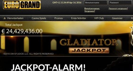 Eurogrand Online Casino ist seriös