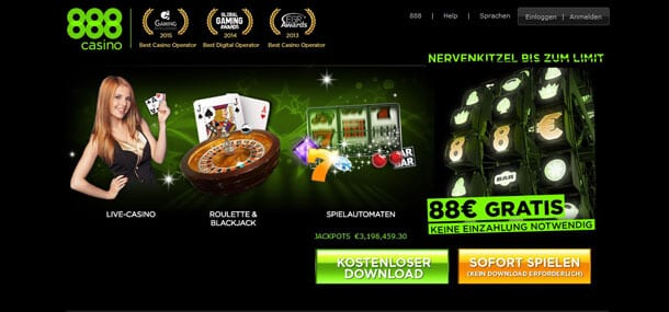 888 Casino Aktionscode