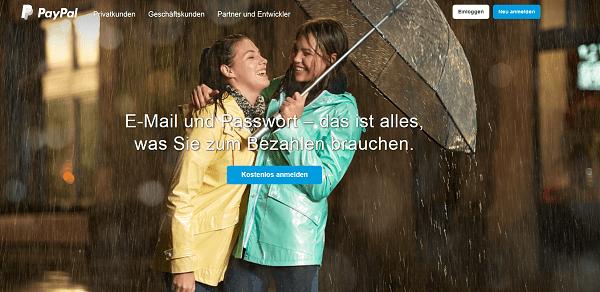 PayPal für Privatkunden