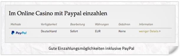 CasinoClub_Einzahlungen