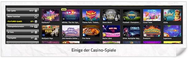 CasinoLuck Erfahrungen: Attraktive Casino-Spiele