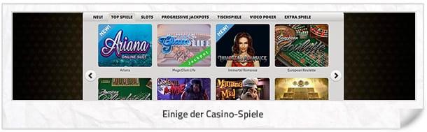 Casinovo_Casino-Spiele