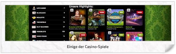 ComeOn_Casino_Spiele