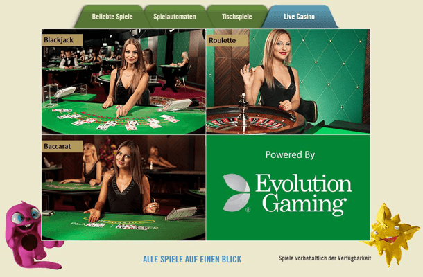 DrückGlück Casino PayPal Test kann bei Spielauswahl überzeugen