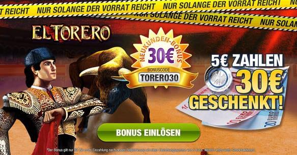 Stake7 El Torero Bonus
