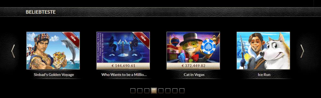 EuroGrand Spiele beliebt Angebot