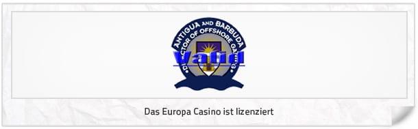 europa casino abzocke