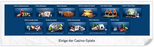 Europa Casino: Einige EuropaCasino Spiele