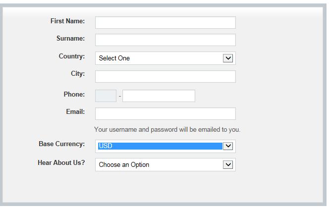 Kontoeröffnung mit dem Online Formular
