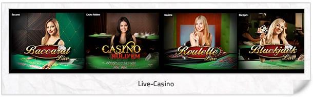 Futuriti Live-Casino