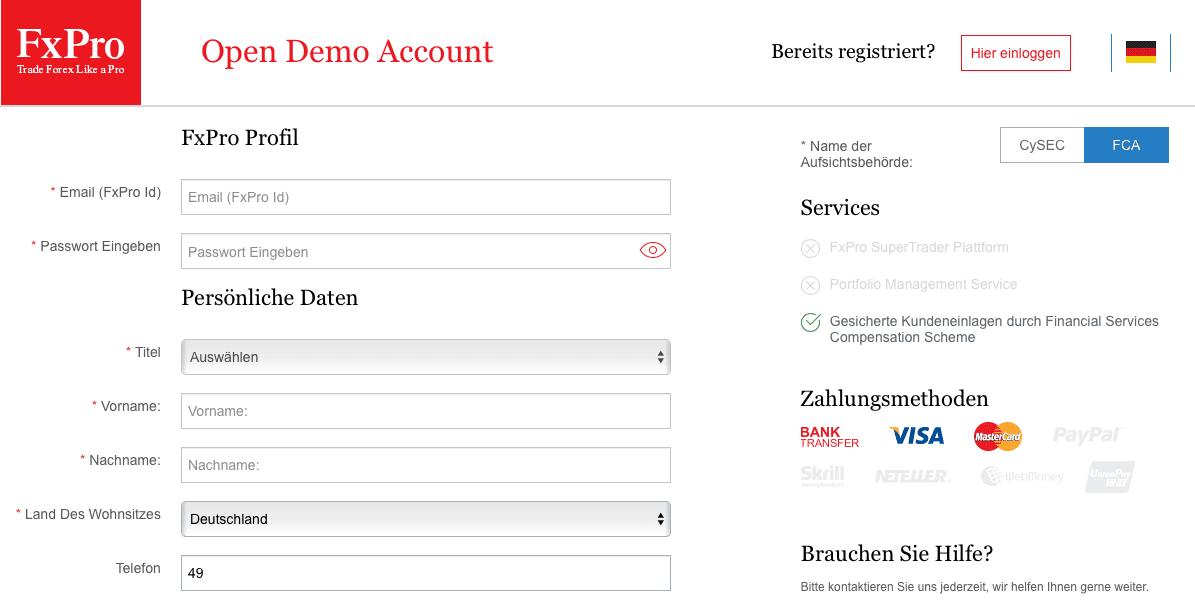 FxPro Demo