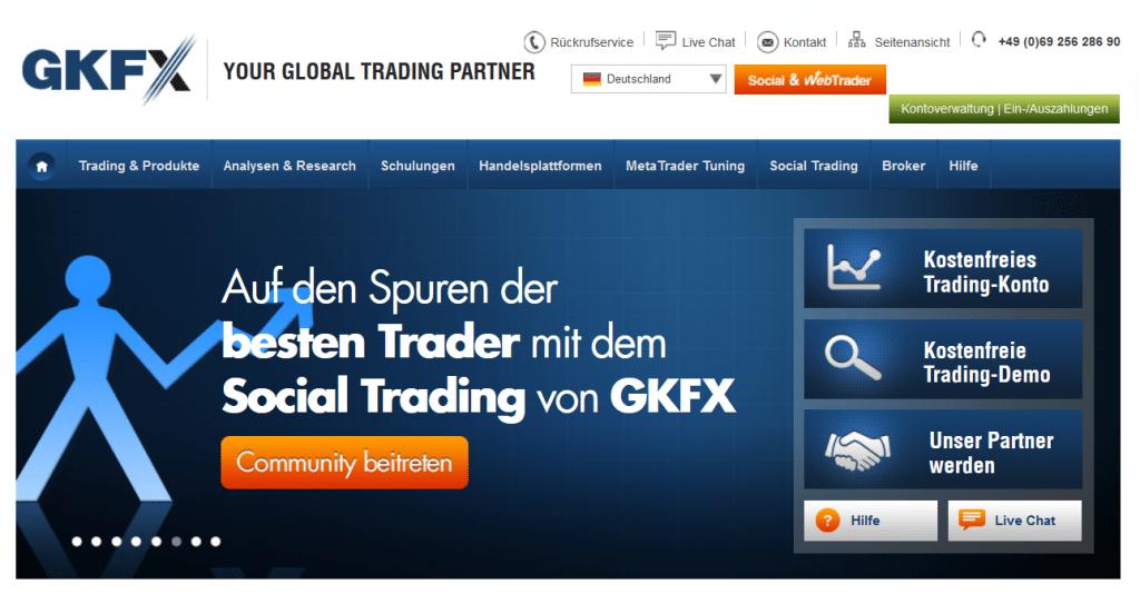 Bei GKFX Deutschland ist auch das Social Trading möglich