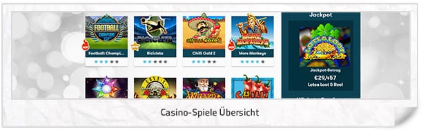Intercasino_Casino-Spiele