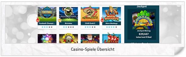 Intercasino_Casino-Spiele