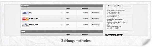InterwettenCasino_Zahlungsmethoden