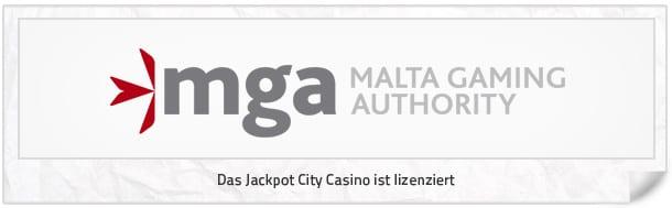 Jackpot City Erfahrungen: Jackpotcitycasio_Lizenz