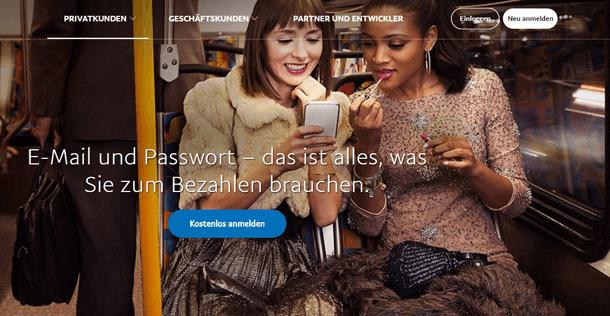 PayPal: schnell und sicher zahlen